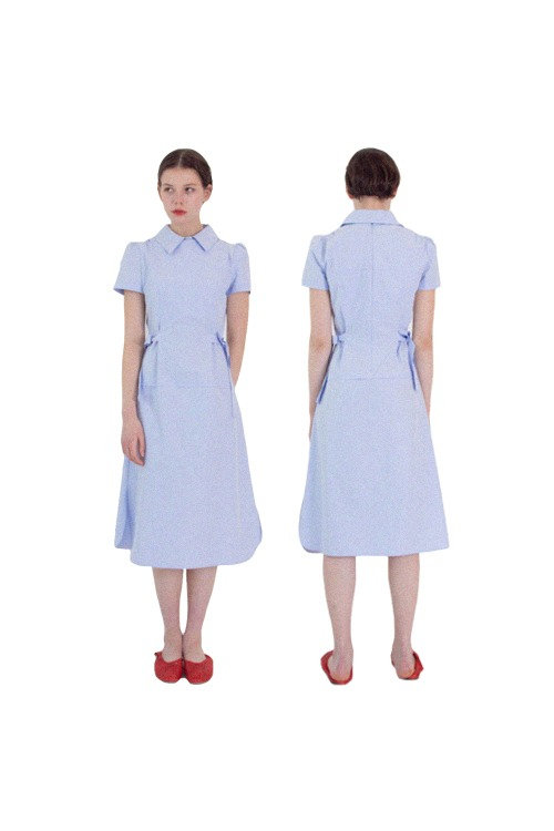 02 dress set_skyblue