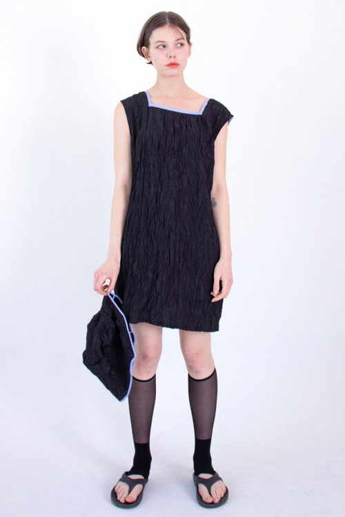 N easy dress set (black)
