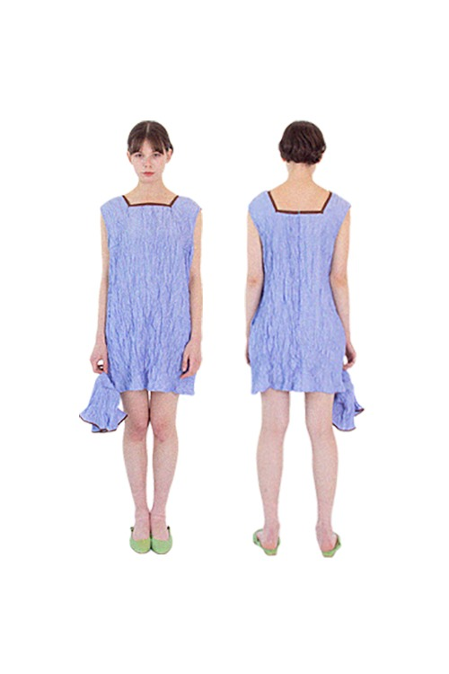 N easy dress set (blue)
