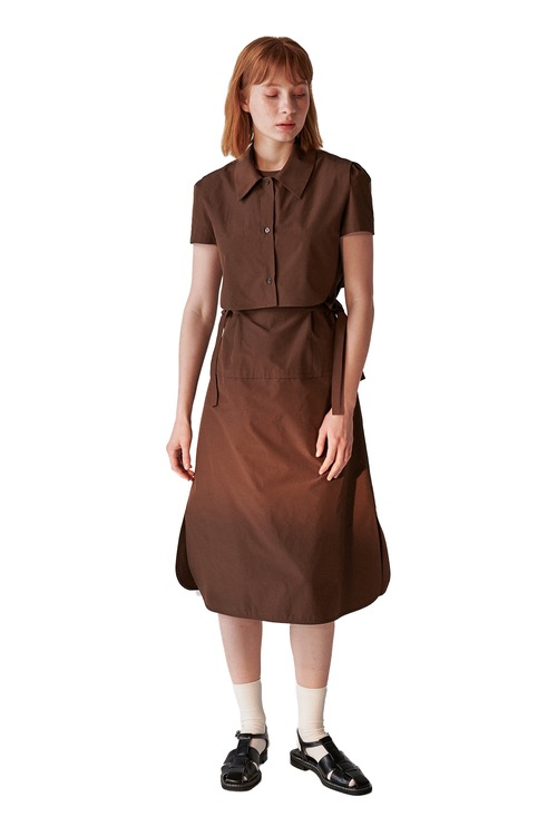 02 dress set_brown